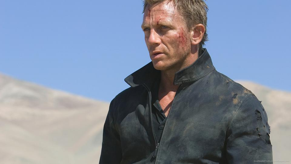 Daniel Craig in a still from Quantum of Solace. The actor will reprise the role of James Bond again.