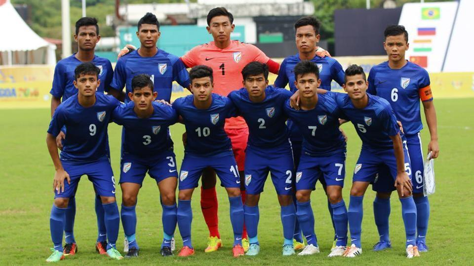 The Indian team is playing the tournament as part of its preparations for the FIFA U-17 World Cup later this year.