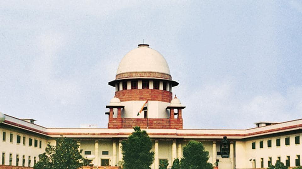 The supreme court of India, in New Delhi.