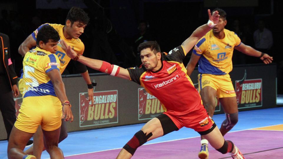 Pro Kabaddi League,Bengaluru Bulls,Tamil Thalaivas