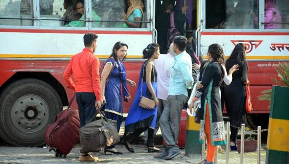 Apart from UPSRTC buses, city buses too would offer free bus service to female bus passengers.