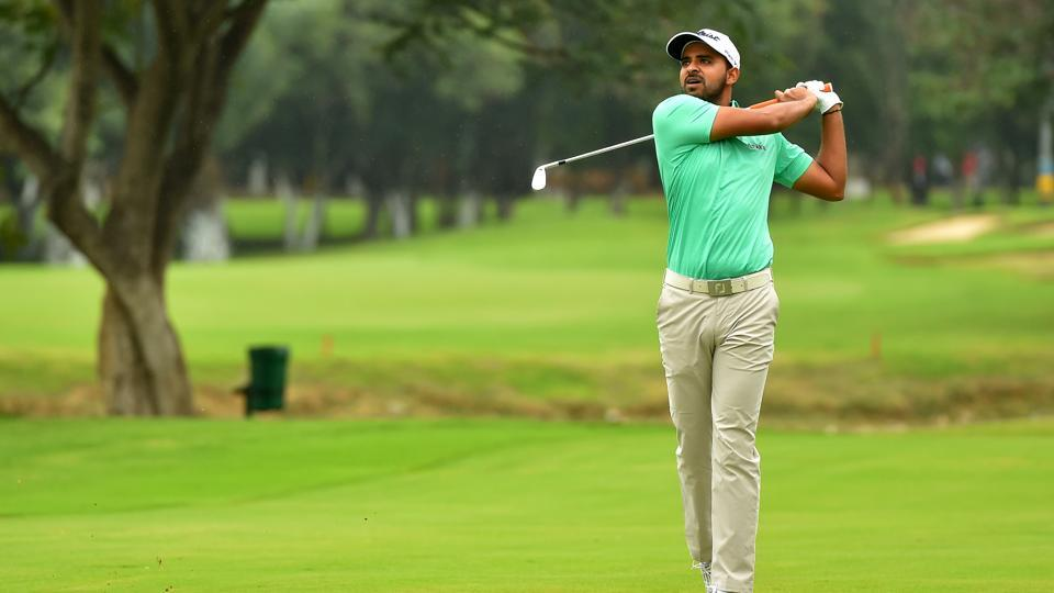 India's Khalin Joshi is currently second at the Take Solutions Masters in Bangalore.