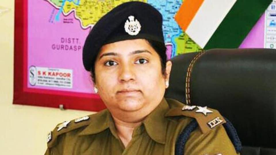 Woman SSP,Chandigarh Police,VP Singh Badnore