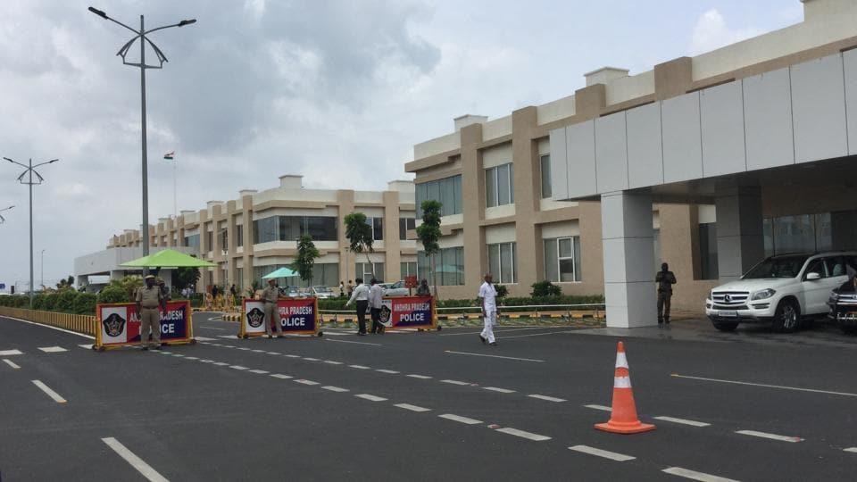 Amaravati assembly complex.