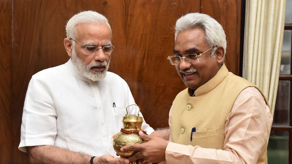 Cabinet minister Madan Kaushik called on Prime Minister Narendra Modi earlier this week in New Delhi.