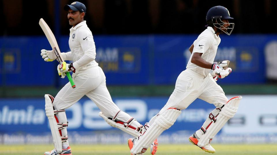 Wriddhiman Saha went on to put on a valuable partnership with Ravindra Jadeja.  (REUTERS)