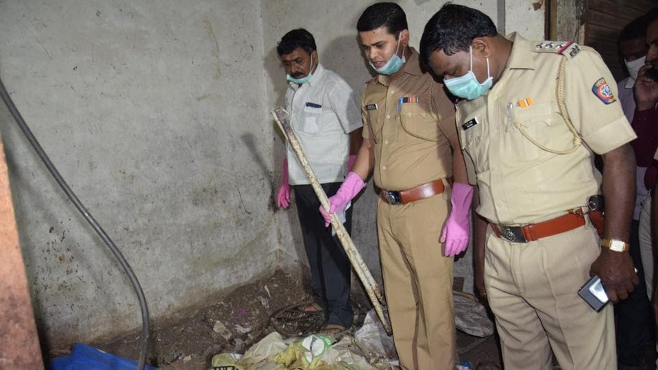 The shocking case of a 15-year-old girl buried in pothole has been revealed on Thursday at pimpri bhaji mandai, Pune.