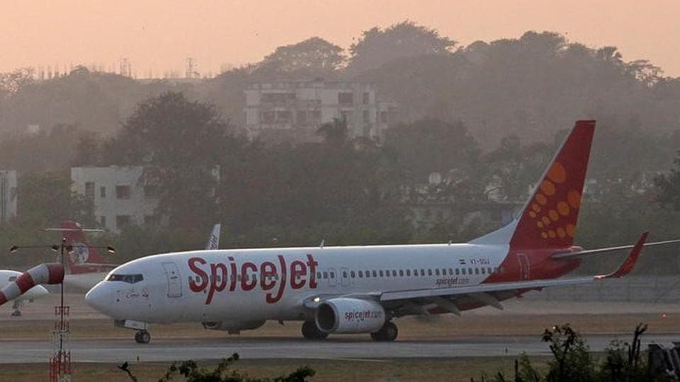 The Spicejet aircraft from Chennai was carrying 68 passengers.
