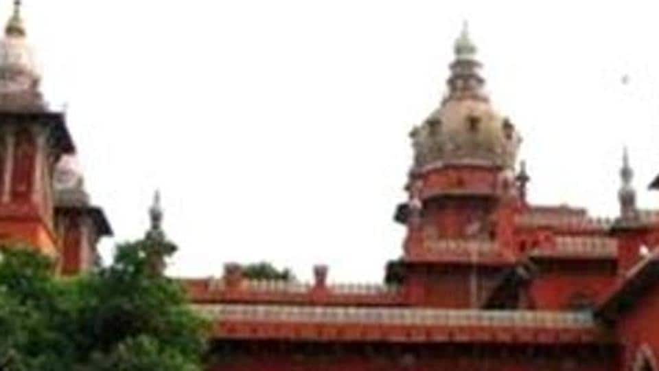 A file photo of Madras high court. The court said petitioner did not cite any valid legal reasons for quashing the recent hike in the MLAs' monthly salary from Rs 55,000 to Rs 1.05 lakh.