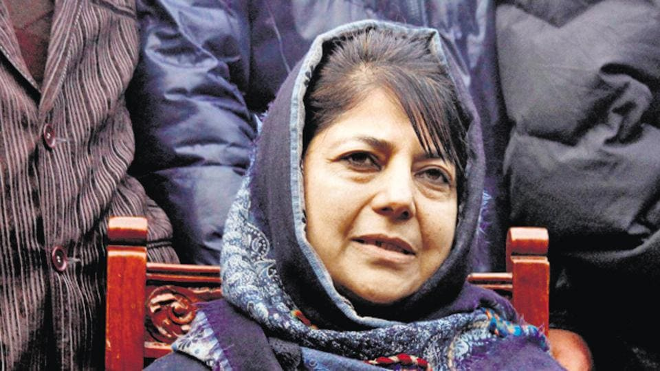 Jammu and Kashmir CM Mehbooba Mufti said it was unfortunate that violence and acrimony has taken over the discourse between the two countries.