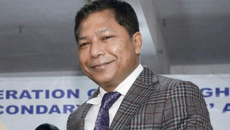 Sangma drops two cabinet ministers