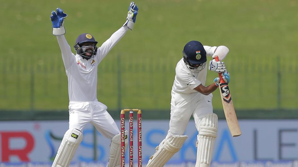 Earlier in the day, Sri Lanka did well to remove Cheteshwar Pujara and give themselves a chance to salvage the game.  (AP)