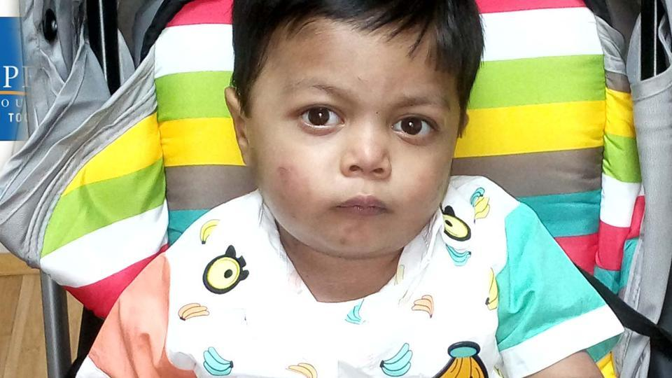 Three-year-old Mohammad Bilal underwent a surgery for a congenital heart disease in July. He was discharged last week and he flew back with his family to his home in Lahore.