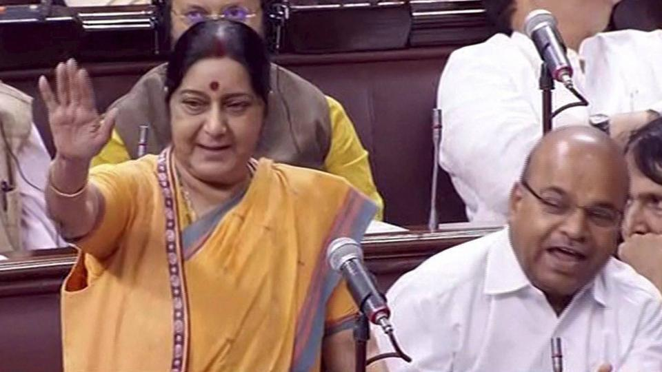 Sushma Swaraj,India-China,Doklam