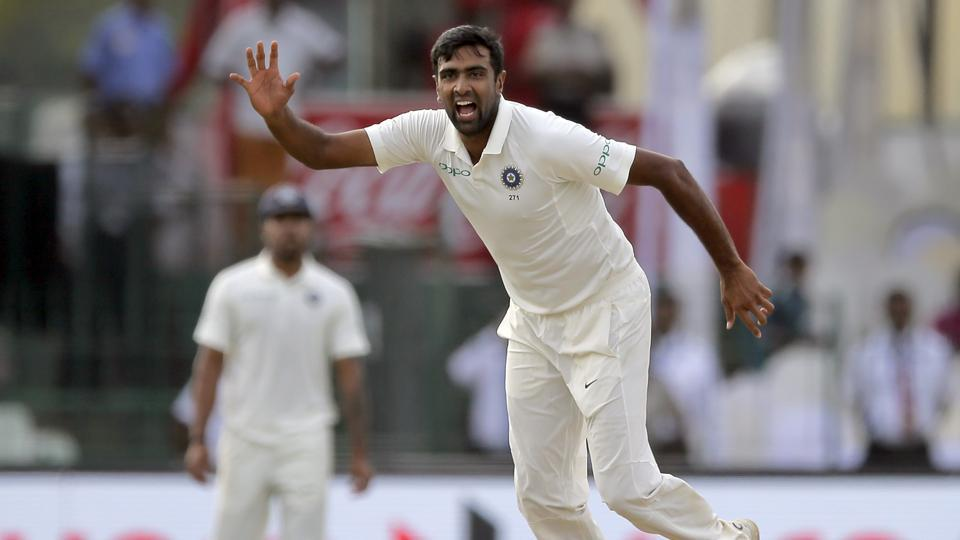 Ravichandran Ashwin in action during the Day 2 of the second Test between India vs Sri Lanka at Colombo. Catch full cricket score of India vs Sri Lanka, 2nd Test, Day 2, here