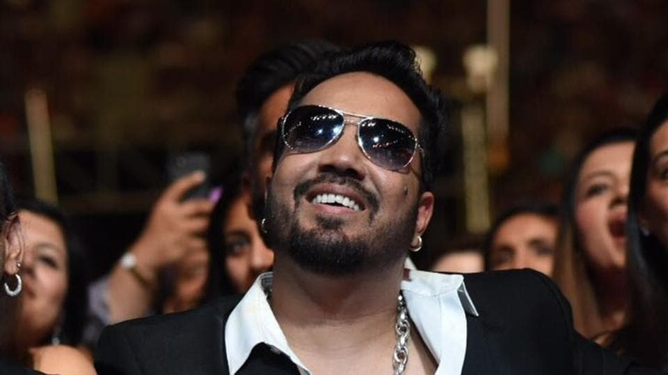 Mika Singh during the green carpet of IIFA Awards 2017 in New York.