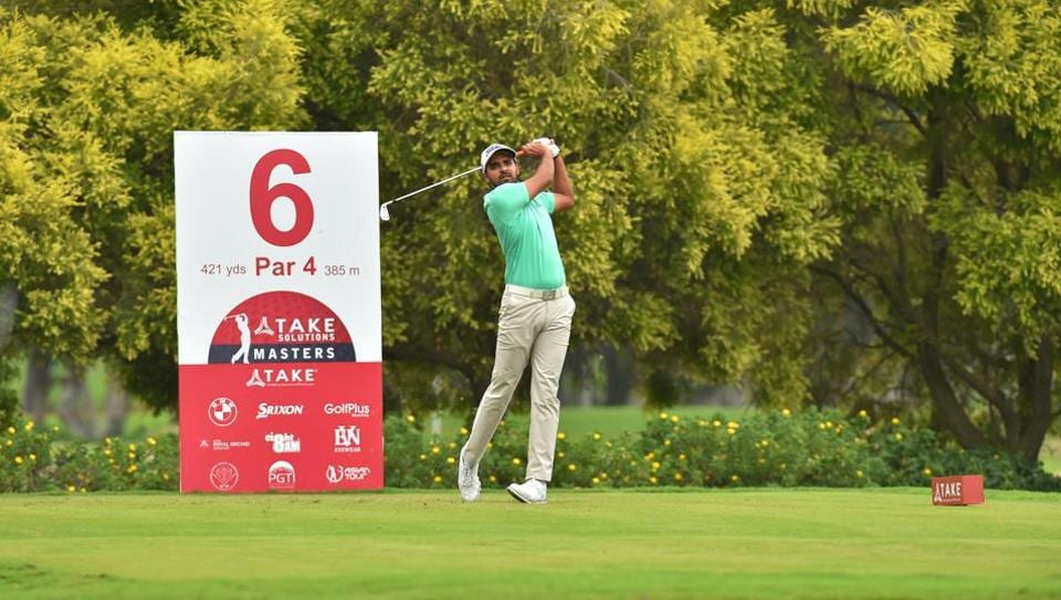 Khalin Joshi is currently second at the Take Solutions Masters in Bangalore.