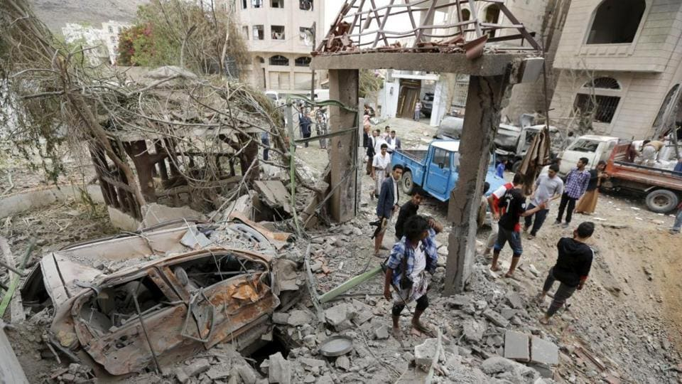 Saudi-led air strike kills nine members of same family in Yemen