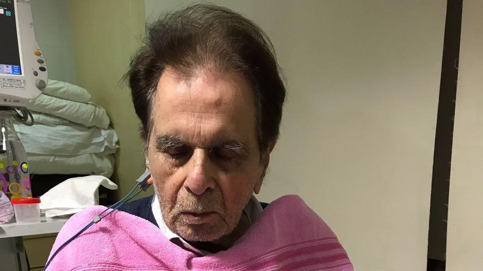 Actor Dilip Kumar in the intensive care unit at Lilavati Hospital in Mumbai . Doctors say his condition is stable.