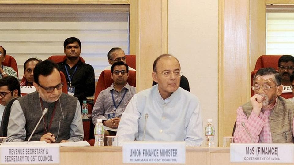 Union minister for finance, corporate affairs and defence, Arun Jaitley, chairs the 20th meeting of the GST Council in New Delhi on Saturday.