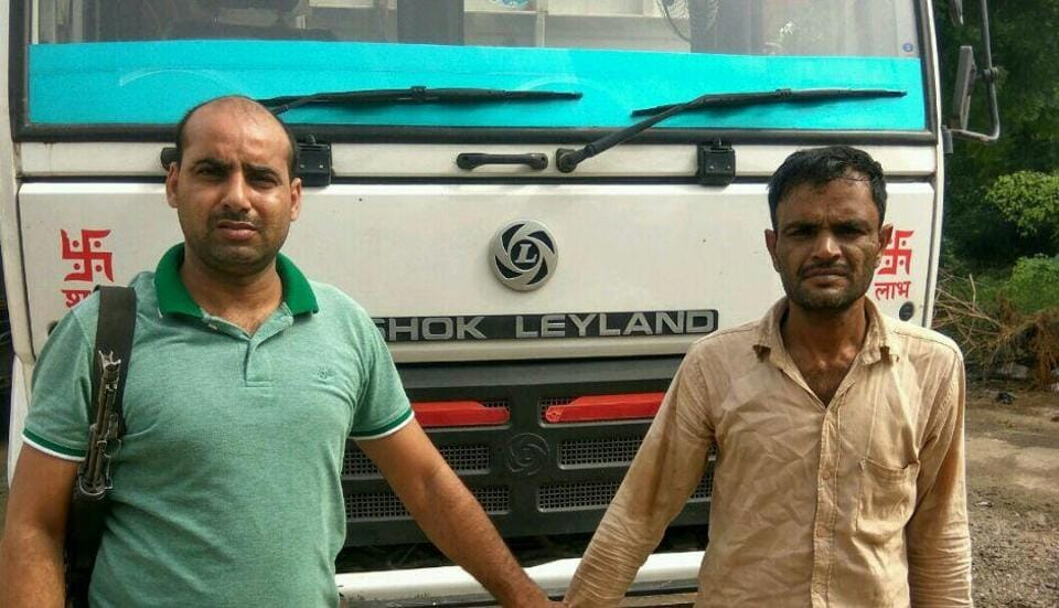 A team of crime branch from Farrukhnagar conducted searches at three places in Panipat at the instance of Suresh, the driver of the truck from which 848 cartons of liquor pouches were seized on Thursday.