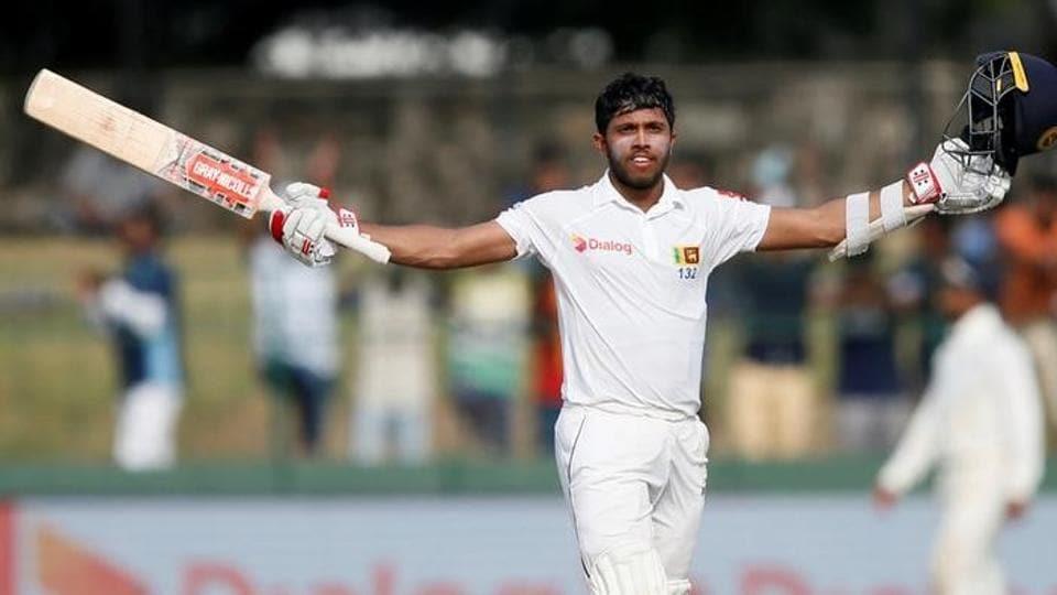 Sri Lanka's Kusal Mendis scored his third century in Test matches on Saturday.