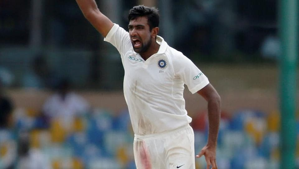 India's Ravichandran Ashwin picked up yet another five-wicket haul in Tests on Saturday.