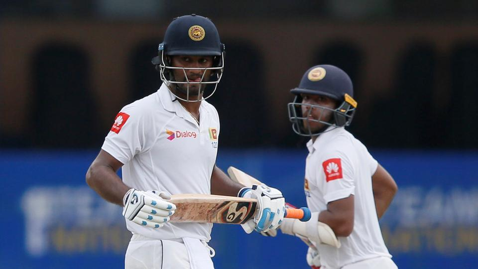 Sri Lanka's Kusal Mendis and Dimuth Karunaratne struck a 191-run stand for the second wicket on Day 3 of the second Test against India at Colombo.