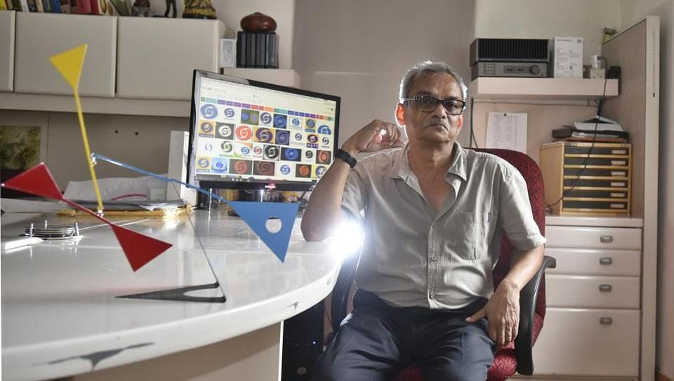 Devashis Bhattacharyya, who belonged to one of the first batches of the National Institute of Design, Ahmedabad, has designed the Doordarshan symbol.
