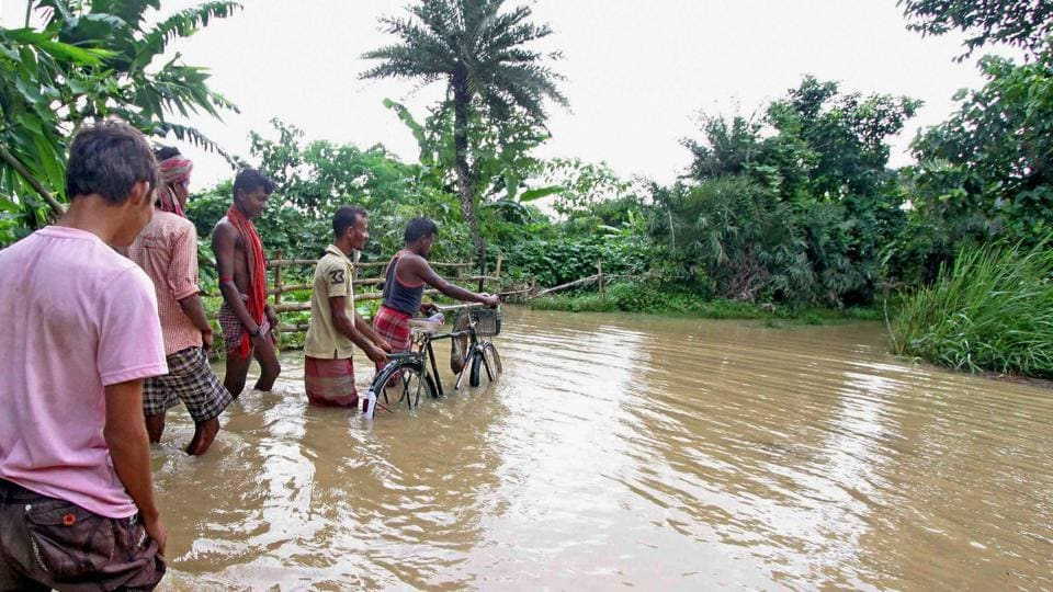 NDRF,Floods,Flood-affected areas