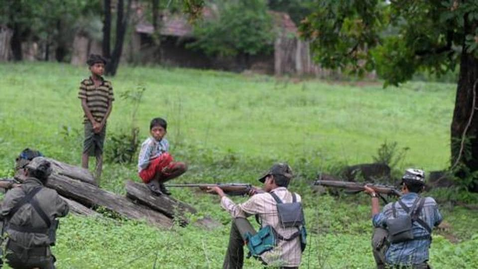 File photograph of Maoists in a training camp in  Chhattisgarh. The Union Home Ministry on Friday announced that special security  teams will now go after top the Maoist leadership.