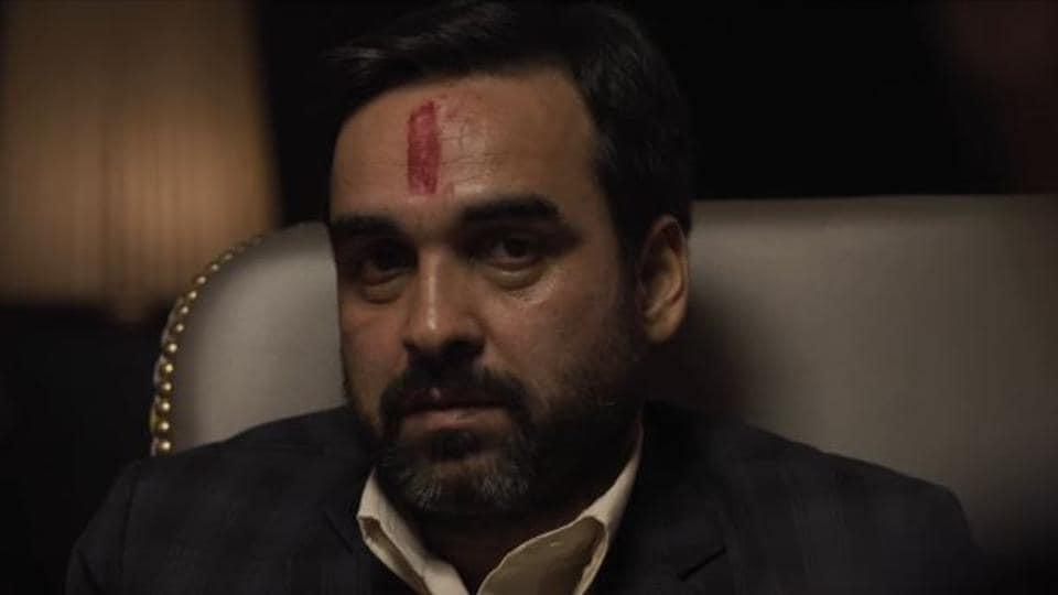Pankaj Tripathi plays a real estate baron in Gurgaon.