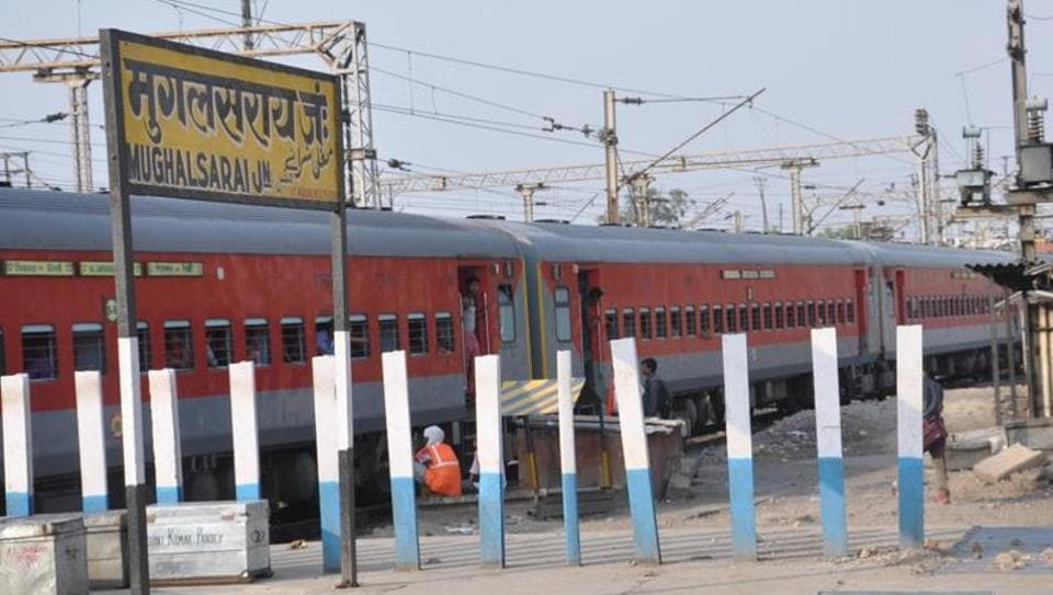The move led to an uproar in Parliament, with SP and BSPleaders protesting the decision to rename the station.