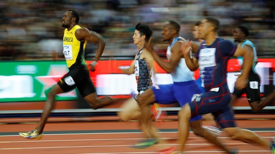 Usain Bolt,Mo Farah,IAAF World Athletics Championships