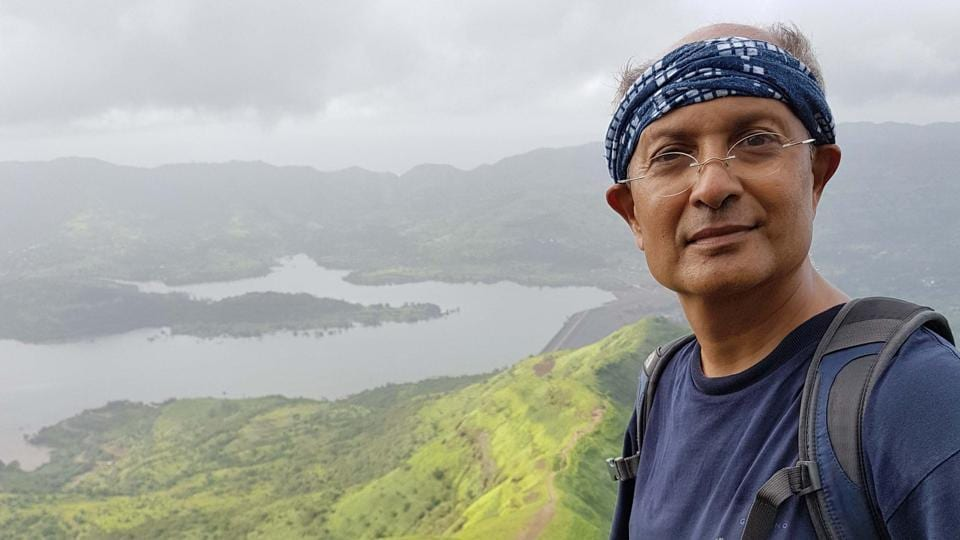 Deepak Dalal found inspiration to write two of his books from trekking on Sahyadris.