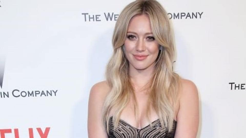 Hilary Duff has been posting candid pictures from Canada.
