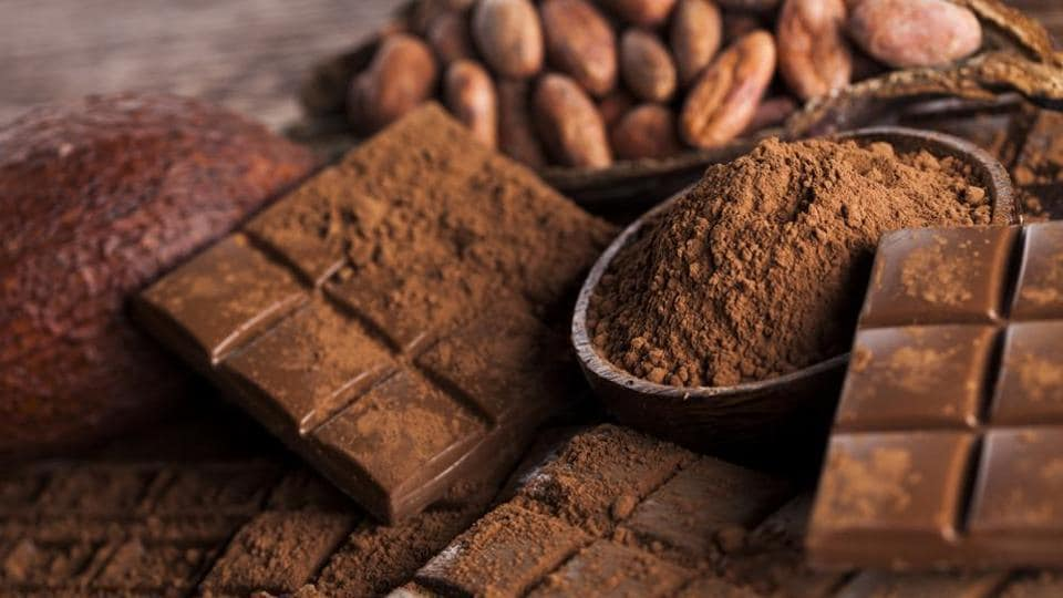 Food items like chocolate contain an amino acid used in the build up of proteins.