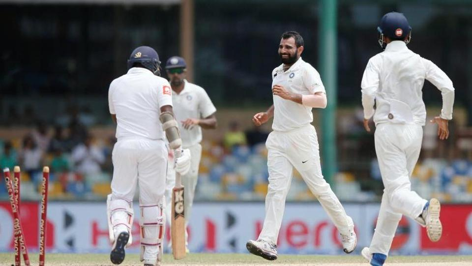India crushed Sri Lanka by an innings and 53 runs in the second Test on Sunday to take an unassailable 2-0 lead in the three-match series. Catch full cricket score of India vs Sri Lanka, 2nd Test, Day 4, here