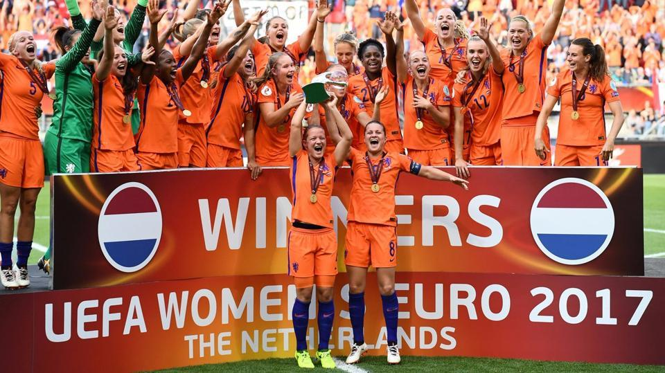 Netherlands defeated Denmark 4-2 to win the UEFA Women's Euro 2017 title.