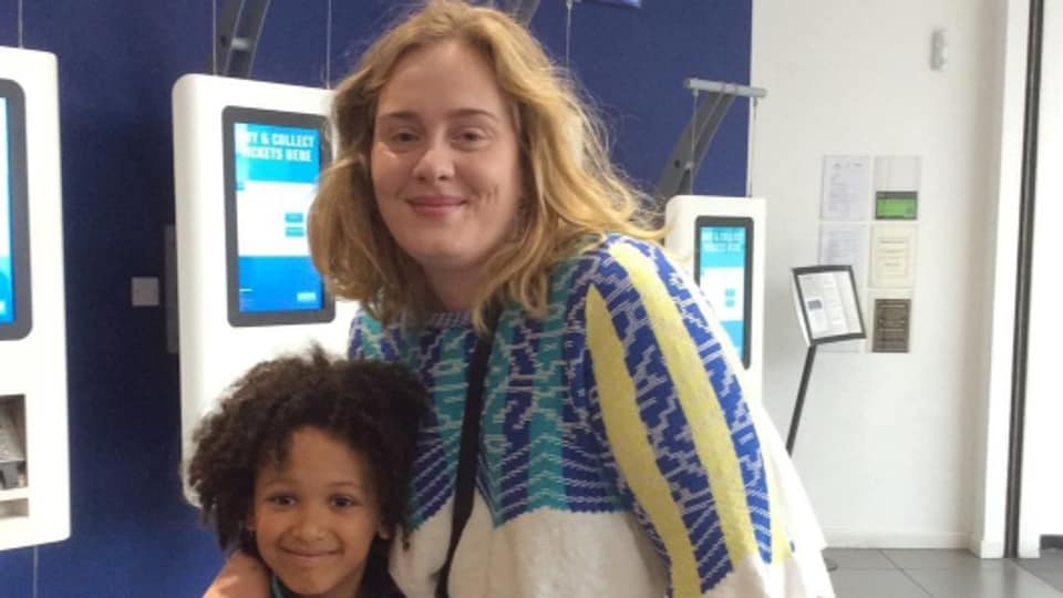 Adele's screening is not the first time she has shown her support for the victims of the blaze. Shortly after the fire broke out, she visited the site.