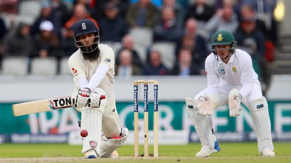 England's Moeen Ali in action during Day 3 of the 4th Test vs South Africa. Follow full cricket score of England vs South Africa, 4thTest, Day 3 here.