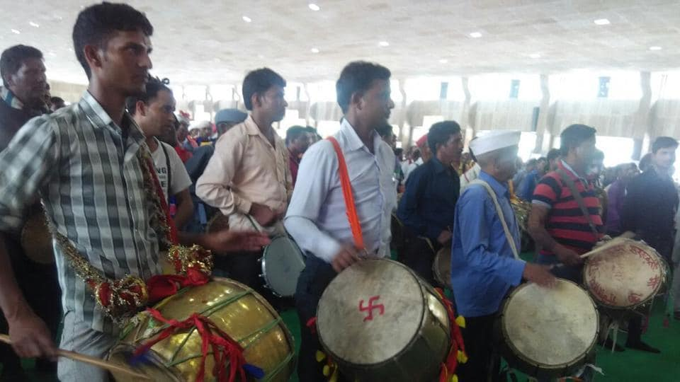 Around 1,250 artists take to dhol beats syncronisation session on Saturday.