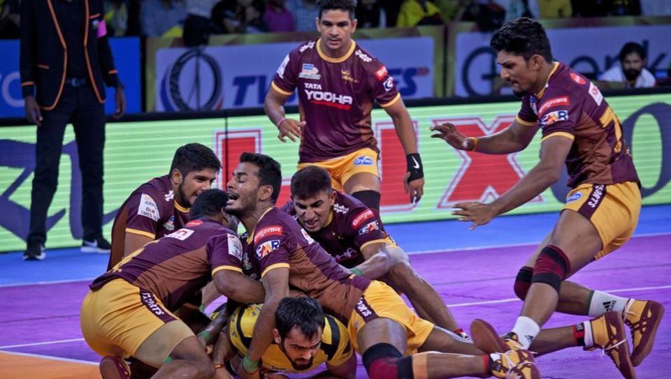 Pro Kabaddi League 2017,UP Yoddha,Bengaluru Bulls