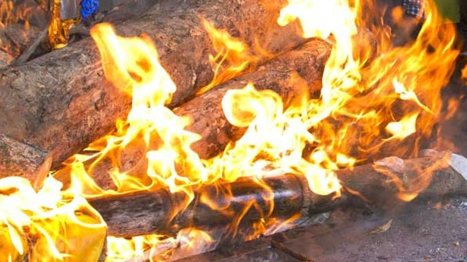A man in West Bengal was allegedly burnt to death by his son. (Representational Photo)