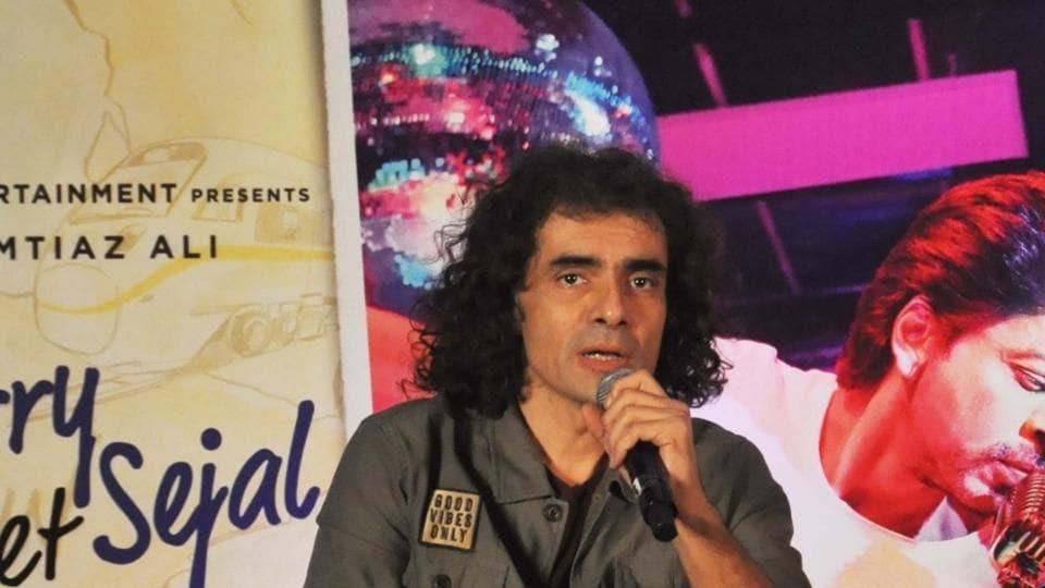 Imtiaz Ali during the promotion of Jab Harry Met Sejal in Kolkata.