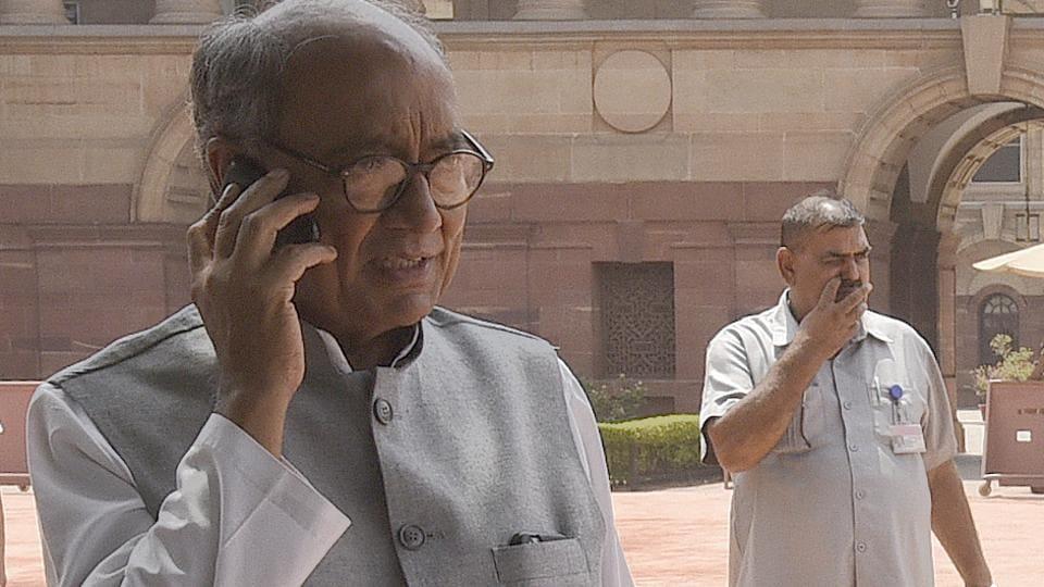 Senior Congress leader Digvijaya Singh