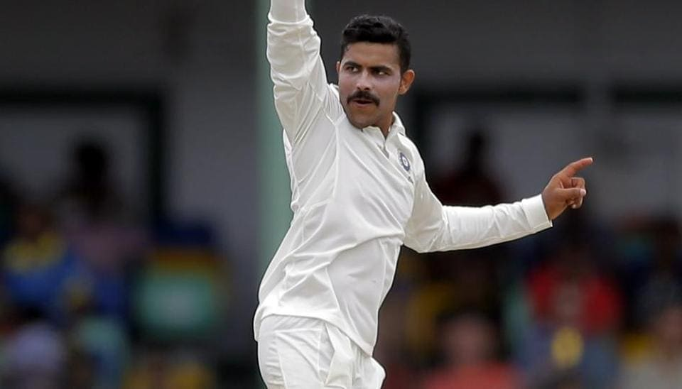 Ravindra Jadeja celebrates the dismissal of Dimuth Karunaratne during the fourth day of the second Test match between India vs Sri Lanka at Colombo. Catch highlights and full cricket score of India vs Sri Lanka, 2nd Test, Day 4, here