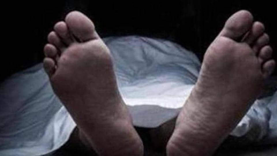 A family in Madhya Pradesh carried their five-year-old son's body on a handcart.