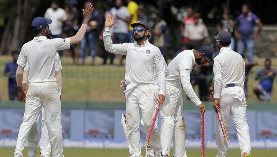 Virat Kohli-led India beat Sri Lanka by an innings and 53 runs in Colombo to take an unbeatable 2-0 lead in the three-match series.