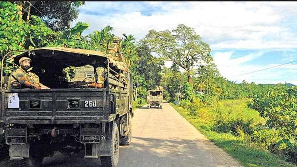 AFSPA has been continuing in Assam since November 1990.
